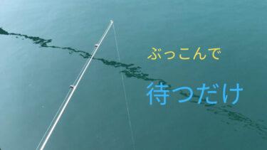 釣りの基本【ぶっこみ釣り】